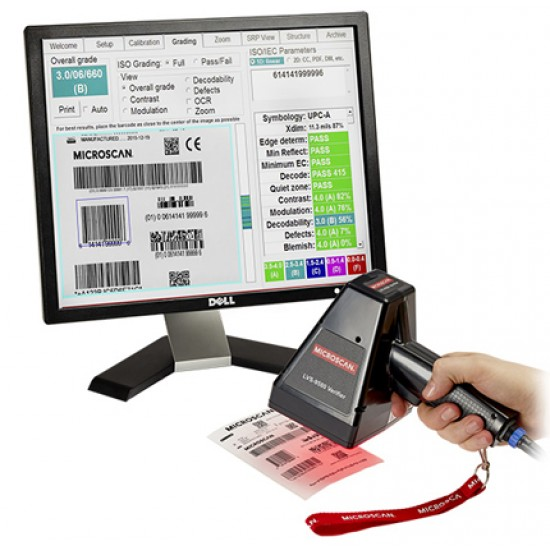 Omron Microscan LVS-9580-DPM Handheld DPM Barcode Verifier
